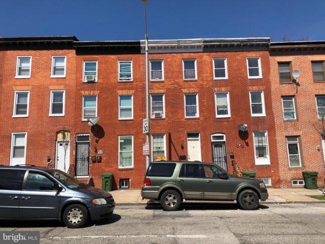 1312 W Pratt Street, BALTIMORE, MD 21223 (#MDBA464502) :: The Miller Team