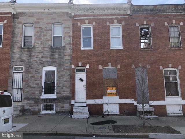 2613 W Fayette Street, BALTIMORE, MD 21223 (#MDBA464510) :: Advance Realty Bel Air, Inc