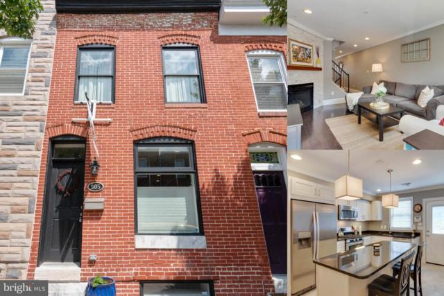 905 S Bouldin Street, BALTIMORE, MD 21224 (#MDBA464652) :: ExecuHome Realty