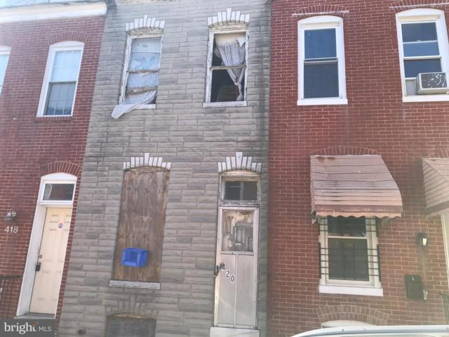 420 N Port Street, BALTIMORE, MD 21224 (#MDBA464680) :: ExecuHome Realty