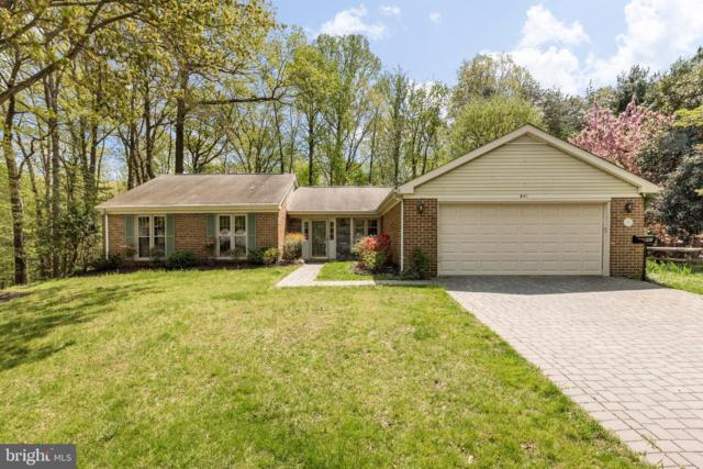 841 Woodmont Road, ANNAPOLIS, MD 21401 (#MDAA396782) :: The Gus Anthony Team