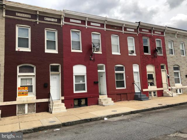 1416 Darley Avenue, BALTIMORE, MD 21213 (#MDBA465468) :: The Maryland Group of Long & Foster