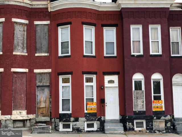 1309 N Patterson Park Avenue, BALTIMORE, MD 21213 (#MDBA465482) :: The Maryland Group of Long & Foster