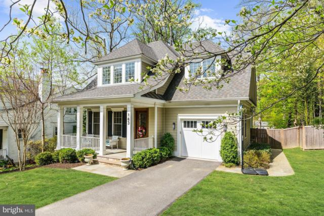 163 Quincy Street, CHEVY CHASE, MD 20815 (#MDMC654852) :: The Daniel Register Group