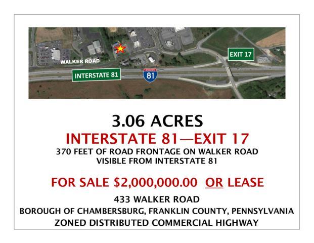 433 Walker Road, CHAMBERSBURG, PA 17201 (#PAFL165156) :: Blue Key Real Estate Sales Team