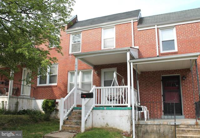 1038 Rockhill Avenue, BALTIMORE, MD 21229 (#MDBA466754) :: Advance Realty Bel Air, Inc