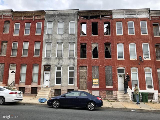 1143 N Carey Street, BALTIMORE, MD 21217 (#MDBA467682) :: Advance Realty Bel Air, Inc