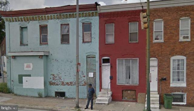 2450 Frederick Avenue, BALTIMORE, MD 21223 (#MDBA467772) :: Advance Realty Bel Air, Inc