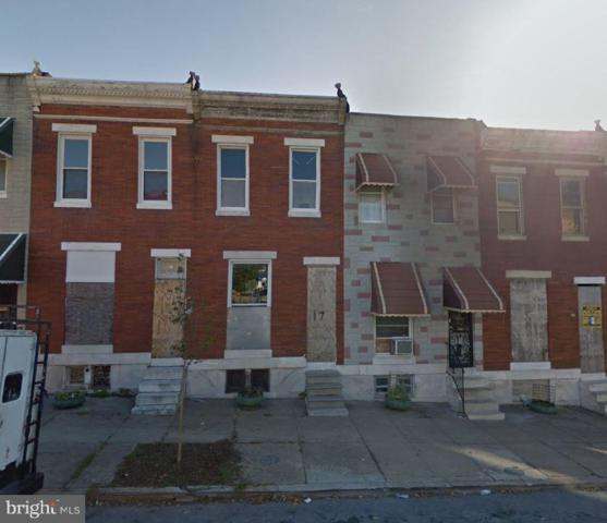 17 N Catherine Street, BALTIMORE, MD 21223 (#MDBA467982) :: Advance Realty Bel Air, Inc