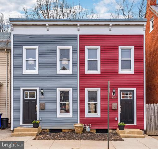 521-523 N Bentz Street, FREDERICK, MD 21701 (#MDFR246110) :: The Riffle Group of Keller Williams Select Realtors