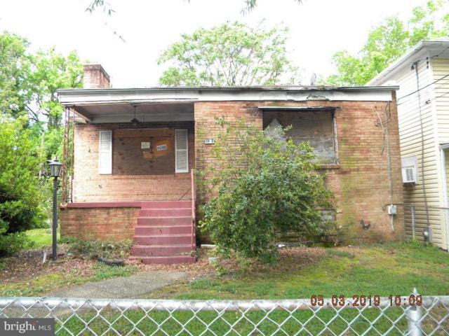 1010 49TH Street NE, WASHINGTON, DC 20019 (#DCDC426606) :: John Smith Real Estate Group