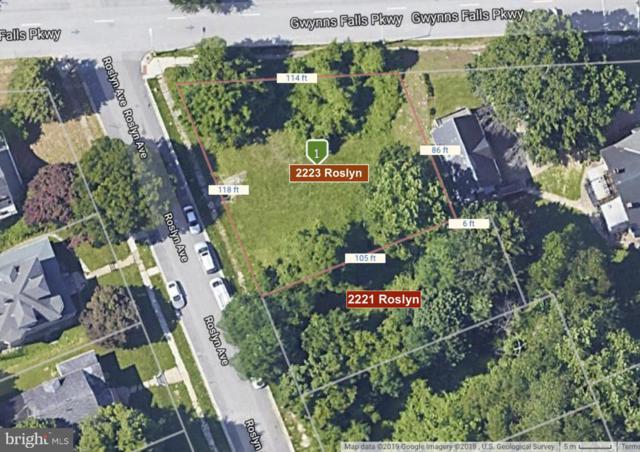 2223 Roslyn Avenue, BALTIMORE, MD 21216 (#MDBA468260) :: Keller Williams Pat Hiban Real Estate Group