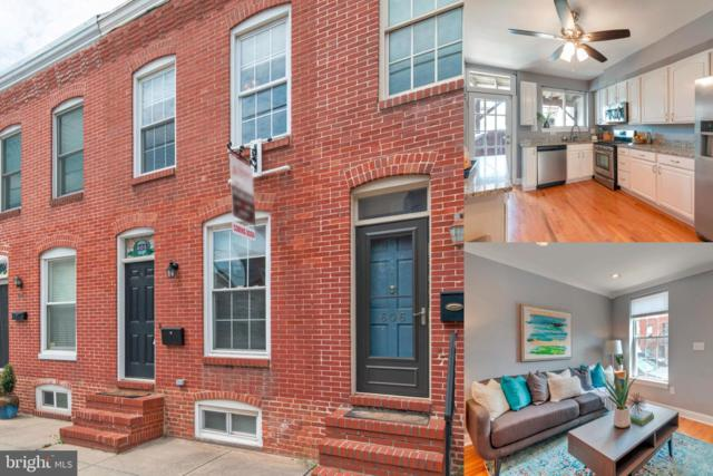 608 S Bouldin Street, BALTIMORE, MD 21224 (#MDBA468358) :: The Kenita Tang Team