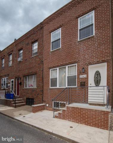 2343 S Bouvier Street, PHILADELPHIA, PA 19145 (#PAPH796536) :: RE/MAX Main Line