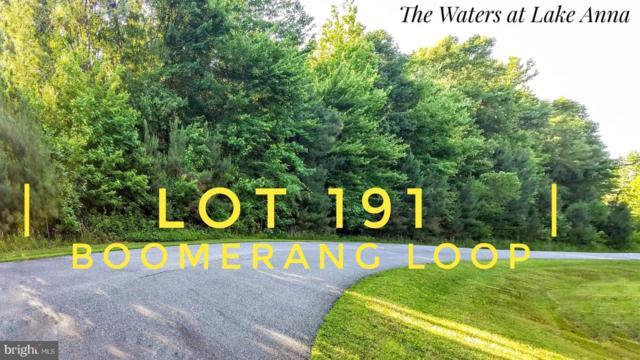 Lot 191 Boomerang Loop Lot 191, MINERAL, VA 23117 (#VALA119136) :: Bruce & Tanya and Associates