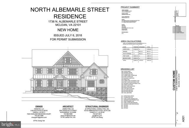1736 N Albemarle Street, MCLEAN, VA 22101 (#VAFX1061910) :: The Putnam Group