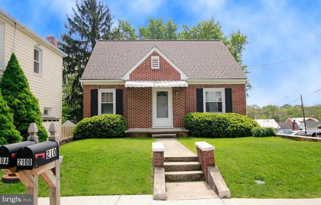 210 W Green Street, MIDDLETOWN, MD 21769 (#MDFR246480) :: ExecuHome Realty