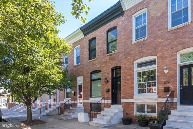 615 S Streeper Street, BALTIMORE, MD 21224 (#MDBA469038) :: The Kenita Tang Team