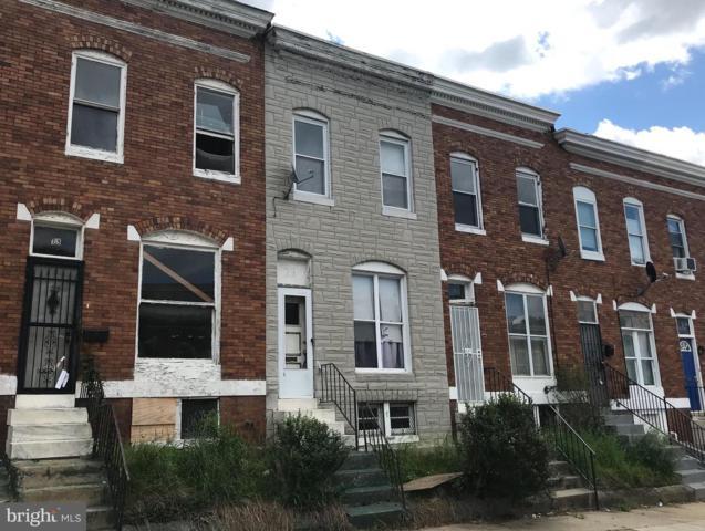 23 N Wheeler Avenue, BALTIMORE, MD 21223 (#MDBA469076) :: Radiant Home Group