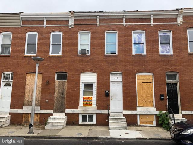 812 N Streeper Street, BALTIMORE, MD 21205 (#MDBA469648) :: Browning Homes Group