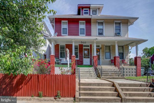 503 Quincy Street NW, WASHINGTON, DC 20011 (#DCDC428084) :: Crossman & Co. Real Estate