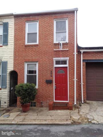 206 S Madeira Street, BALTIMORE, MD 21231 (#MDBA469870) :: The Sebeck Team of RE/MAX Preferred