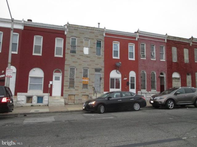 1834 W Franklin Street, BALTIMORE, MD 21223 (#MDBA470016) :: Samantha Bendigo