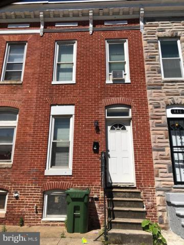444 N Patterson Park Avenue, BALTIMORE, MD 21231 (#MDBA470210) :: The Kenita Tang Team