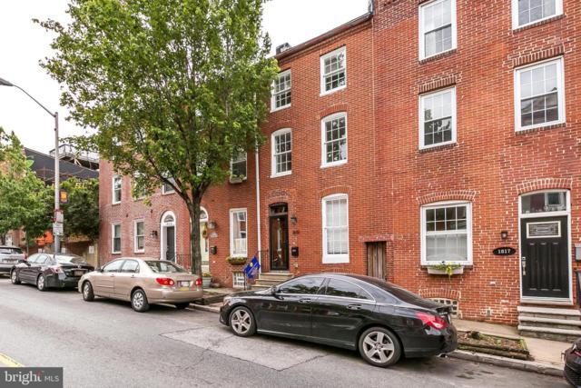 1819 E Pratt Street, BALTIMORE, MD 21231 (#MDBA470542) :: Five Doors Network