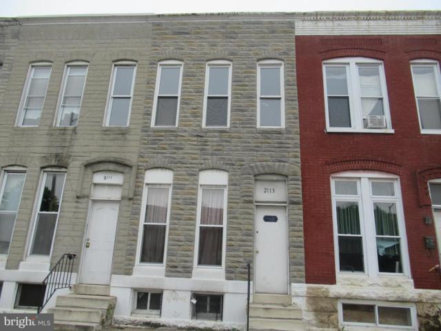 2113 Wilkens Avenue, BALTIMORE, MD 21223 (#MDBA471244) :: The Vashist Group