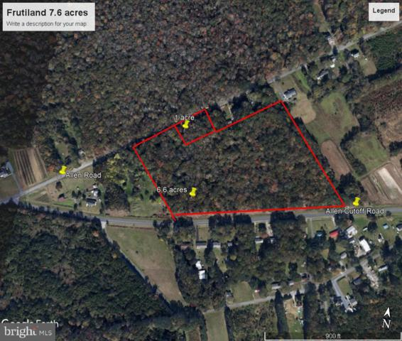 0 S Division Street, FRUITLAND, MD 21826 (#MDWC103668) :: The Daniel Register Group