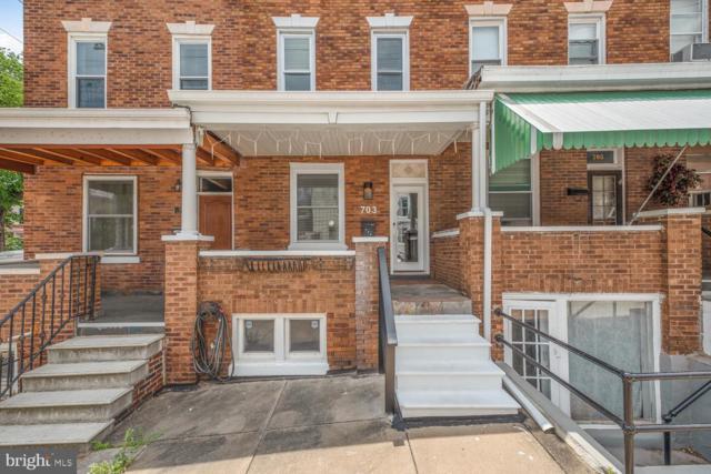 703 W 36TH Street, BALTIMORE, MD 21211 (#MDBA471990) :: Blue Key Real Estate Sales Team