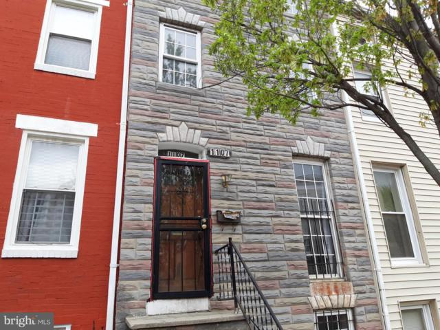 1107 W Lombard Street, BALTIMORE, MD 21223 (#MDBA472084) :: The Miller Team