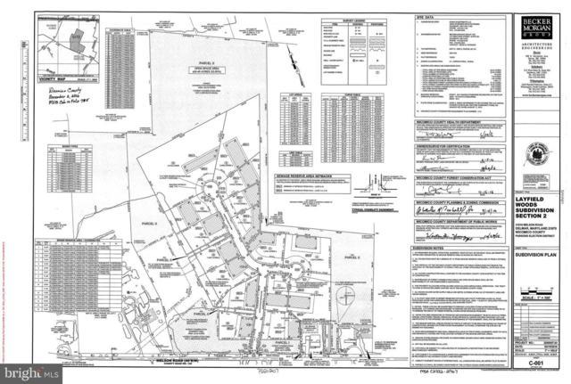 Lot 15 Layfield Woods Drive, DELMAR, MD 21875 (#MDWC103762) :: Bob Lucido Team of Keller Williams Integrity