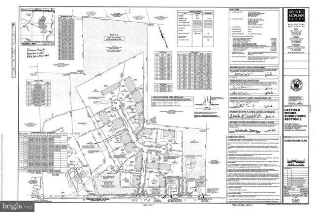Lot 16 Layfield Woods Drive, DELMAR, MD 21875 (#MDWC103764) :: RE/MAX Coast and Country