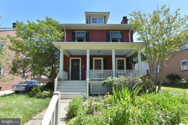 16 W Linden Street, ALEXANDRIA, VA 22301 (#VAAX236564) :: The Maryland Group of Long & Foster Real Estate