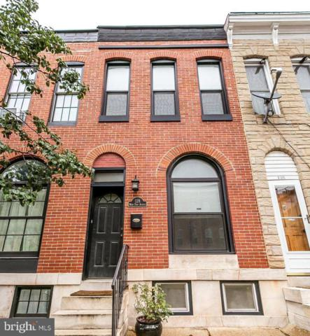 128 W Fort Avenue, BALTIMORE, MD 21230 (#MDBA472468) :: The Miller Team