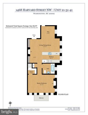 1468 Harvard Street NW #21, WASHINGTON, DC 20009 (#DCDC431030) :: Network Realty Group