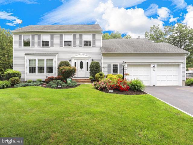 21 Village Drive W, HAMILTON, NJ 08620 (#NJME280542) :: Erik Hoferer & Associates