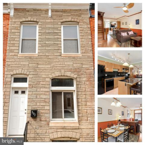 502 S Bouldin Street, BALTIMORE, MD 21224 (#MDBA472658) :: The Sebeck Team of RE/MAX Preferred