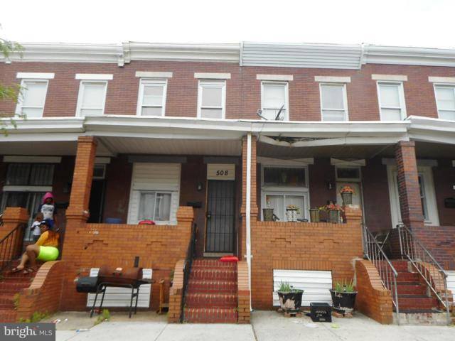 508 N Robinson Street, BALTIMORE, MD 21205 (#MDBA472710) :: The Maryland Group of Long & Foster Real Estate
