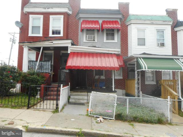 419 Poplar Grove Street, BALTIMORE, MD 21223 (#MDBA472720) :: The Maryland Group of Long & Foster Real Estate