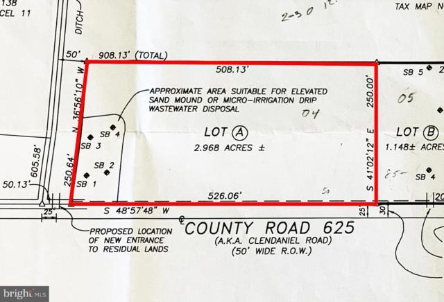 LOT A Clendaniel Road, LINCOLN, DE 19968 (#DESU142412) :: LoCoMusings