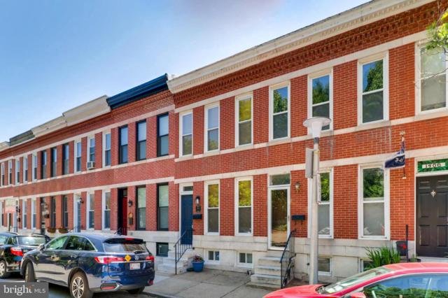 1410 Marshall Street, BALTIMORE, MD 21230 (#MDBA473148) :: Blue Key Real Estate Sales Team