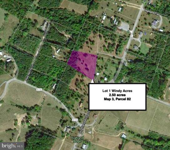 Lot 1 Highland Ridge Road, BERKELEY SPRINGS, WV 25411 (#WVMO115530) :: Arlington Realty, Inc.