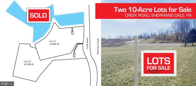 Lot 1 B Creek Road, SHERMANS DALE, PA 17090 (#PAPY101004) :: The Heather Neidlinger Team With Berkshire Hathaway HomeServices Homesale Realty
