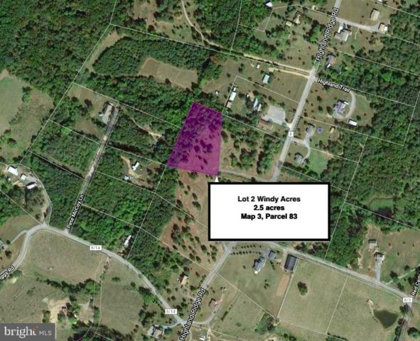 Lot 2 Highland Ridge Road, BERKELEY SPRINGS, WV 25411 (#WVMO115536) :: Arlington Realty, Inc.