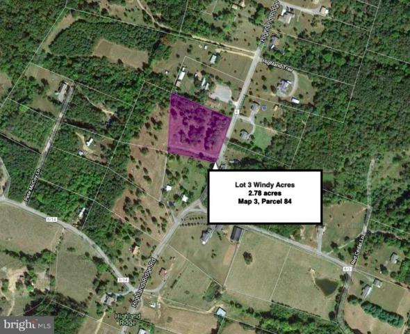 Lot 3 Highland Ridge Road, BERKELEY SPRINGS, WV 25411 (#WVMO115538) :: Arlington Realty, Inc.