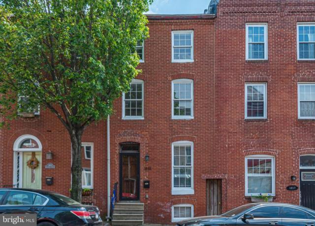 1819 E Pratt Street, BALTIMORE, MD 21231 (#MDBA473952) :: CENTURY 21 Core Partners