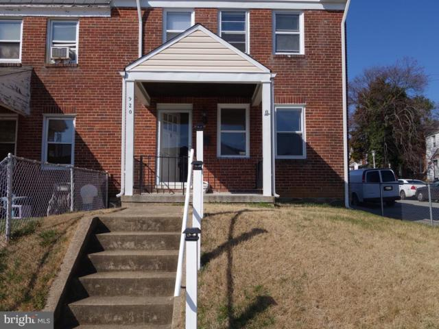 920 Lyndhurst Street, BALTIMORE, MD 21229 (#MDBA474032) :: Colgan Real Estate